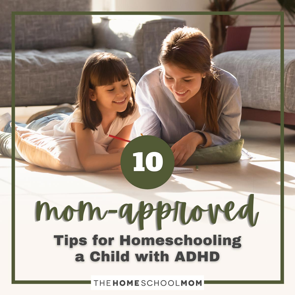 10 Mom-approved tips for homeschooling a child with ADHD