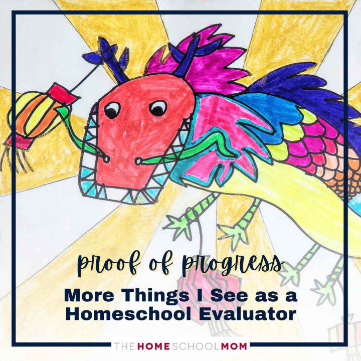 Proof of Progress: More Examples from Homeschool Evaluations