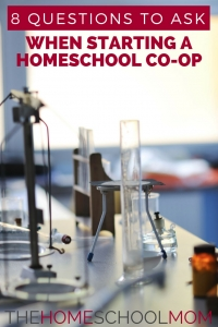 8 Questions to Ask When Starting a Homeschool Co-op