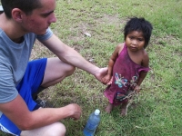 Jonathan with Honduran Girl