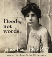 Alice Paul and the Women's Suffrage Movement