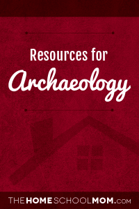 Resources for studying about Archaeology