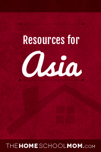 Resources for studying about Asia
