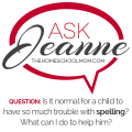 Ask Jeanne: Concerns about spelling