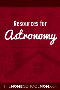 Resources for studying about Astronomy