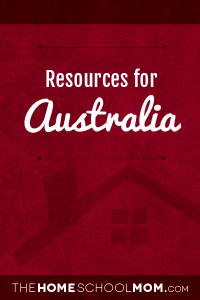 Resources for studying about Australia