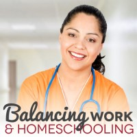 Balancing Work Outside the Home and Homeschooling
