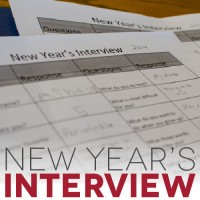 The New Year's Interview