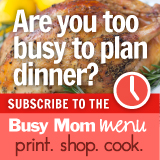 52 Week Menu Pack from Menus4Moms: Print. Shop. Cook.
