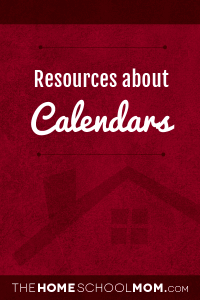 Learning about Calendars