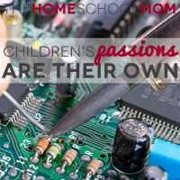 Benefits of Homeschooling: Pursuing Passions