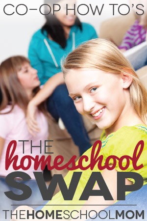 TheHomeSchoolMom Blog: The World's Smallest Homeschooling Co-ops - Homeschool Swaps
