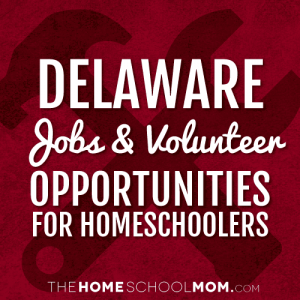 Delaware Homeschool Jobs and Volunteer Opportunities