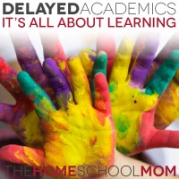 Delayed Academics: It's All About Learning
