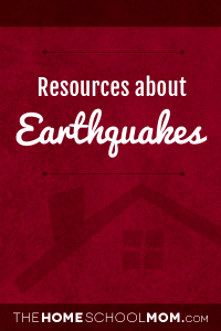 Resources about earthquakes
