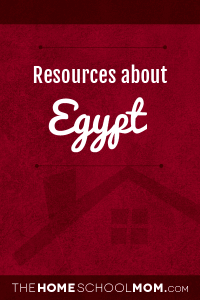 Resources about Egypt