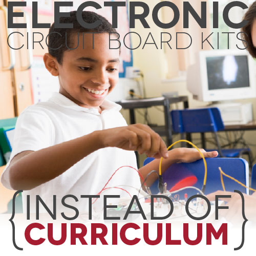 Electronic Circuit Board Kits (Instead of Curriculum)