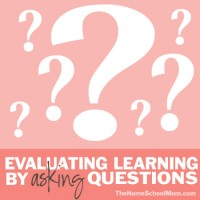 Homeschool Testing: Evaluating Learning by Asking Questions