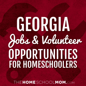 Georgia Homeschool Volunteering & Job Opportunities
