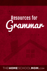 Homeschool resources for grammar