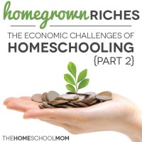 Homegrown Riches: The Economic Challenges of Homeschooling {Part 2}