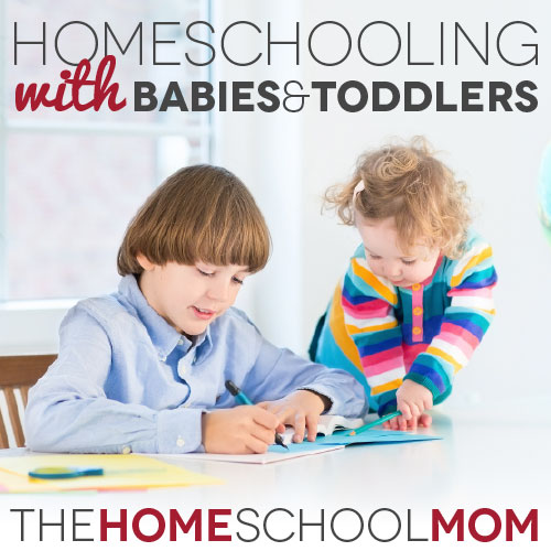 TheHomeSchoolMom Blog: How to homeschool with babies at home