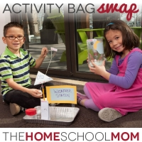 Swapping Homeschooling Activity Bags