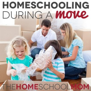 Homeschooling During a Move