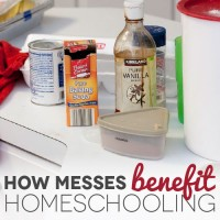 What Making Messes Can Do For Your Homeschool