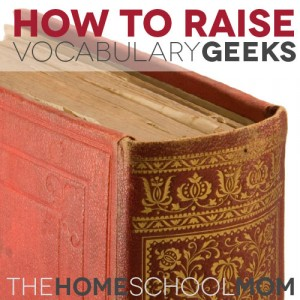 How To Raise Vocabulary Geeks