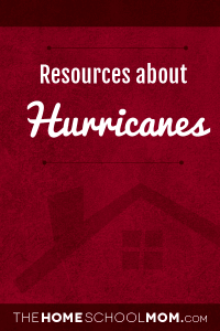 Homeschool resources about hurricanes