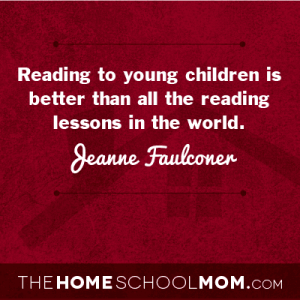 Delayed Academics: Reading to young children is better than all the reading lessons in the world.