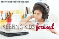 An Insider Tip For Keeping Kids Focused