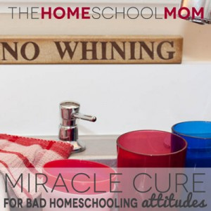 The Miracle Cure for Bad Homeschooling Attitudes