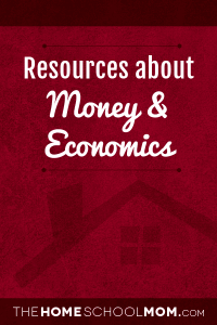 Homeschool resources about money