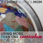 Homeschool Curriculum: When you need more than one curriculum for a subject