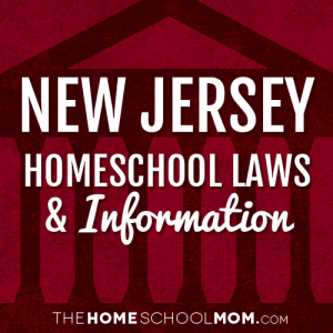 New Jersey Homeschool Laws & Information