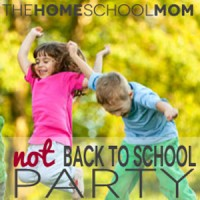 Celebrate Homeschooling with a Not Back To School Event
