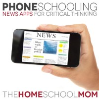 More PhoneSchooling: News Apps for Critical Thinking