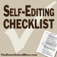 Self-Editing Checklist