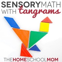 TheHomeSchoolMom Blog: Sensory Math with Tangrams