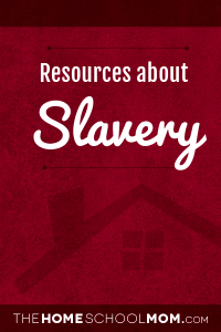 Resources about slavery