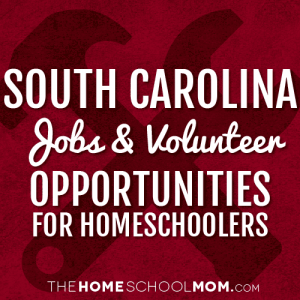 South Carolina Jobs & Volunteer Opportunities for Homeschoolers