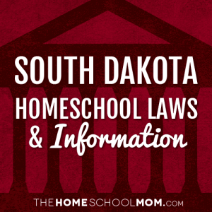 South Dakota New York Homeschool Laws & Information
