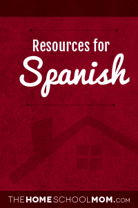 Homeschool resources for Spanish