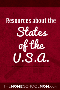 Resources for studying the states of the USA