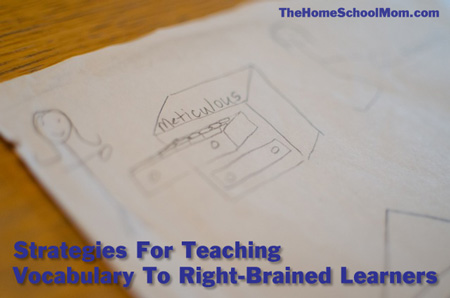 TheHomeSchoolMom: Vocabulary Teaching Strategies for Right-Brained Learners