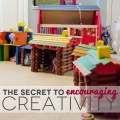 The Secret to Encouraging Creativity For Kids