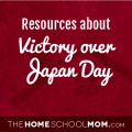 Homeschool resources about VJ Day