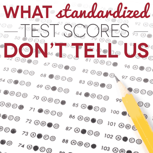 What Standardized Test Scores Don't Tell Us